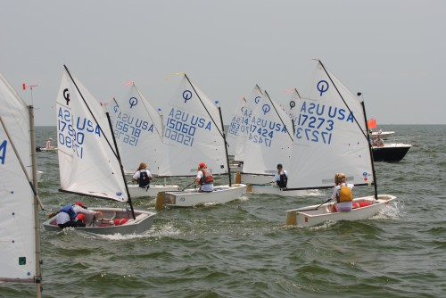 FBYC Junior Regatta Start