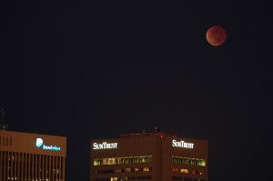 2007 Lunar Eclipse Over Richmond