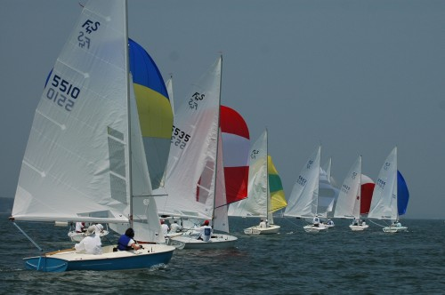 2007 Flying Scot North American Championship Downwind