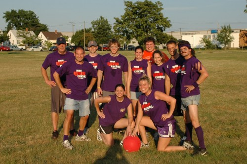 2008 Summer Kickball Team