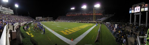 ECU Stadium During the ECU VT Game