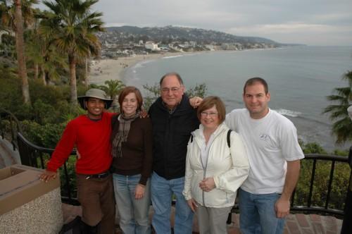 LA Christmas Family Photo