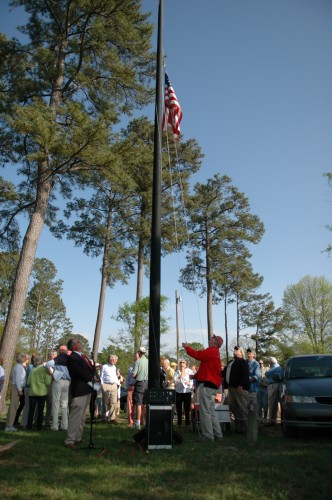 FBYC Opening Day Flag Raising