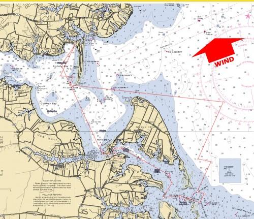Gynn Island Circumnavigation Map