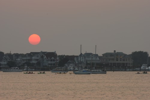 Cape May Harbor Sunset