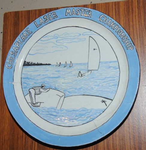 Chesapeake Bay Laser Masters Trophy Plate