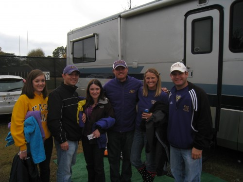 2010 SMU @ ECU Football Tailgate