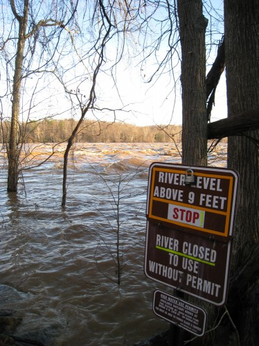 2010 James River High Water