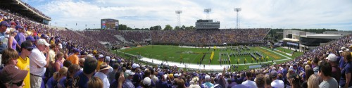 ECU 2010 Home Opener Panoramic