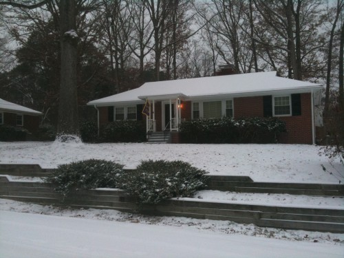 The House in Snow Dec 2010