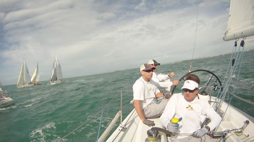 Lucky Dog on Day 2 of Key West Race Week
