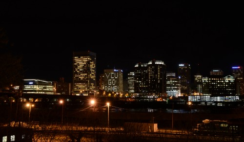Richmond Skyline - VCU GO RAMS