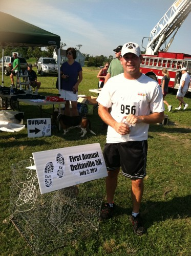 Jon at the Deltaville 5k