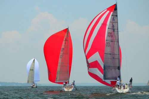 2011 Leukemia Cup Regatta Downwind Voodoo 2, Double Eagle, Afterthought