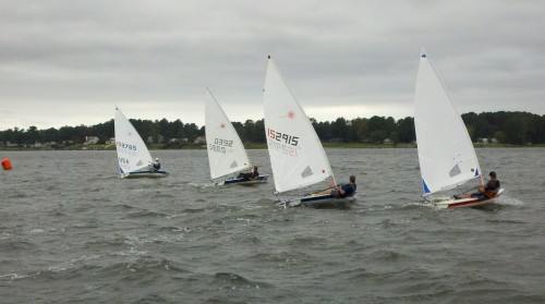 Fall Regatta Start