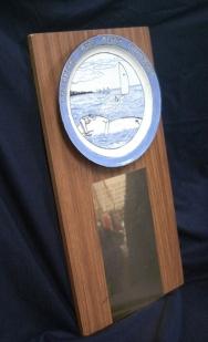 Original Chesapeake Bay Laser Masters Championship trophy