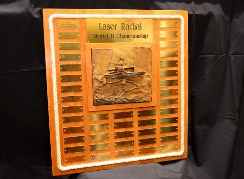 Laser Radial District 11 Championship Trophy