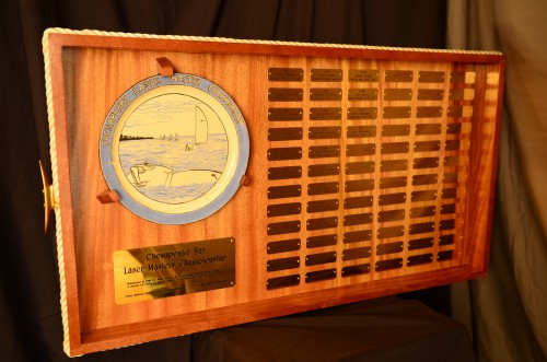 Chesapeake Bay Laser Masters Championship Trophy